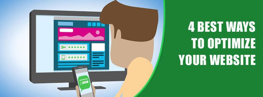 4 best ways to optimize your website